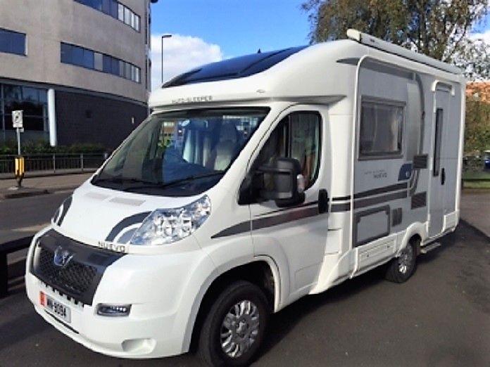 Motor plus motorhomes Auto Sleeper Nuevo EK for sale in Derby in the ...
