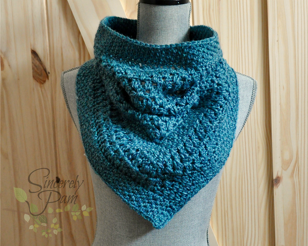 Lisa Triangle Cowl Pattern By Sincerely Pam Cozy Cowls Crochet