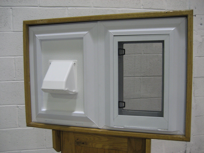 Dryer Vent Windows Basement windows, Window vents