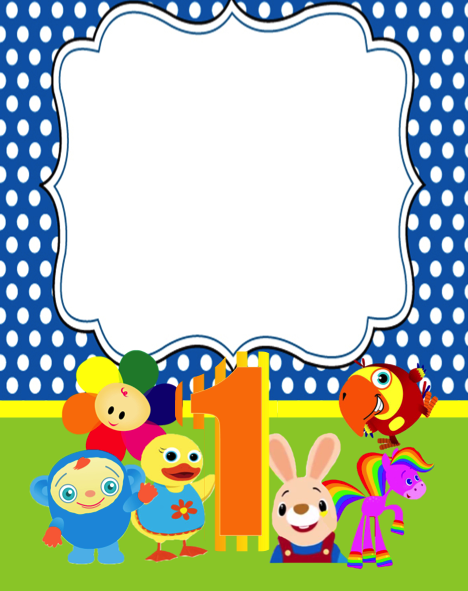 Free Kids Birthday Party Printable Files Harry The Bunny Baby First Tv