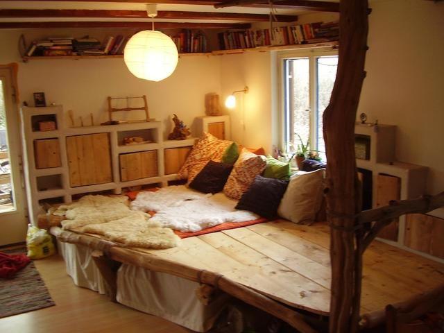 Különleges hálószoba Wohnen, Zuhause und Podestbett