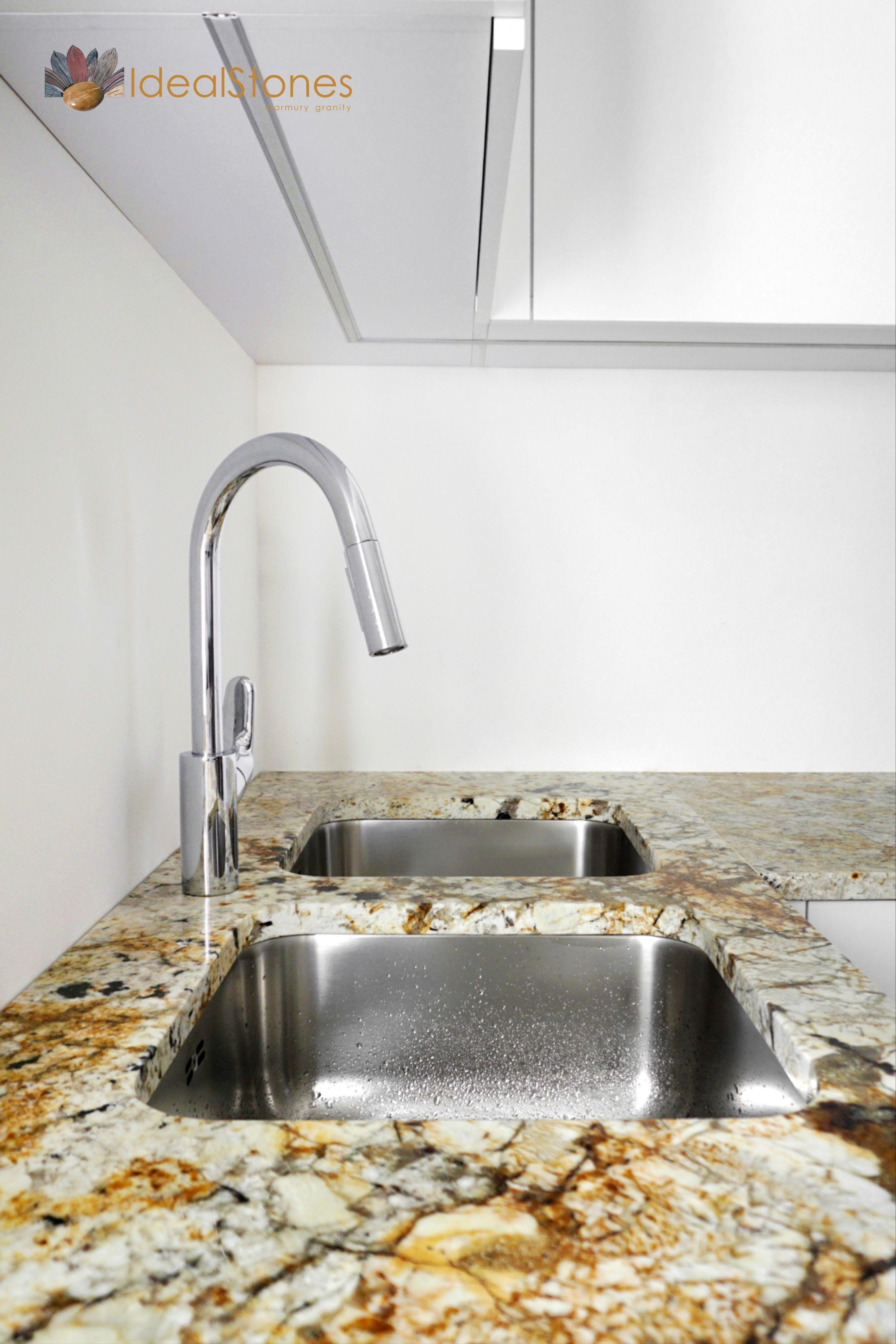 Blat Kamienny Granitowy W Kuchni Home Decor Sink Decor