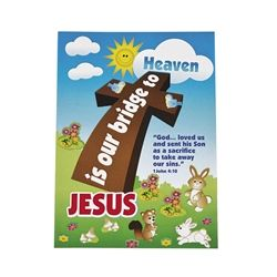 Paper Mini Jesus Is the Bridge Sticker Scenes - Religious