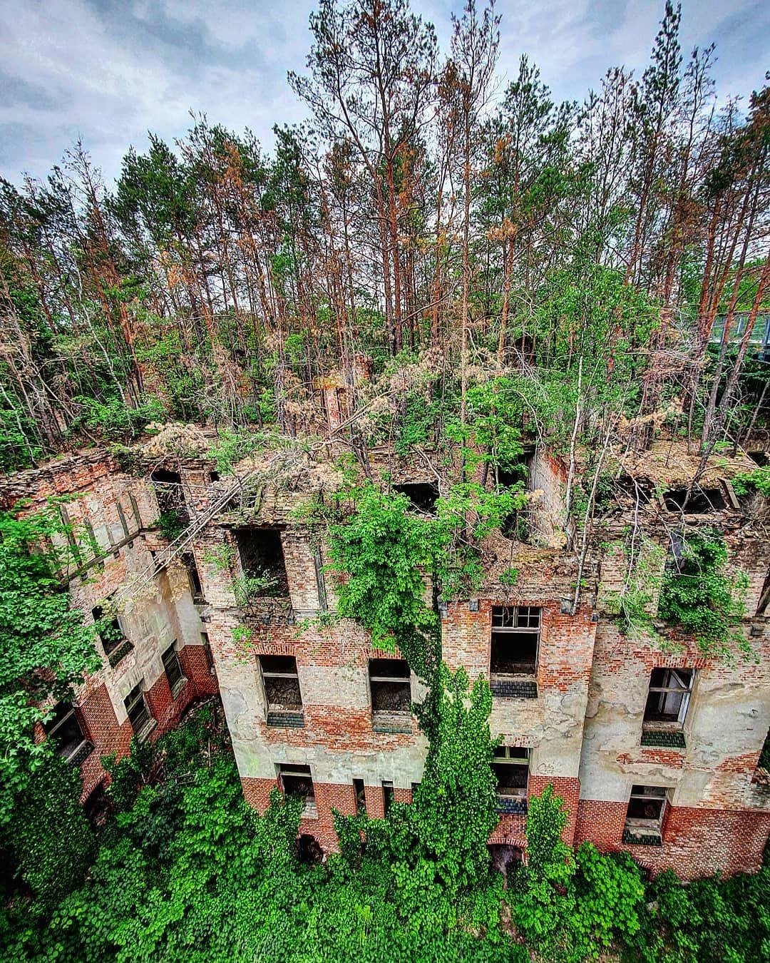 Lostplace Abandonedplaces Abandoned Nature