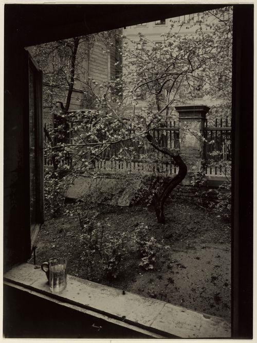 The Window of My Studio - Spring in My Garden byJosef Sudek