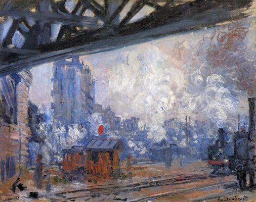Gare Saint Lazare Tableau 791668 Claude Monet Tableau Monet Monet Gare Saint Lazare