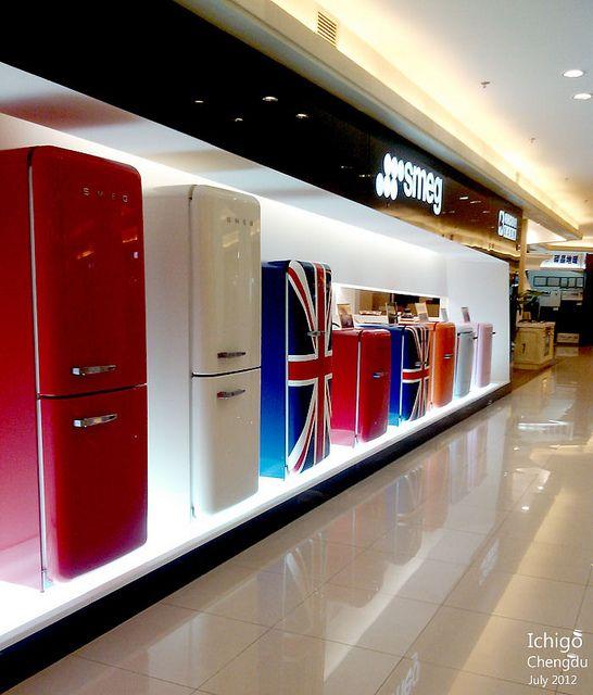 We Love Smeg Showroom Interior Design Electronics Store