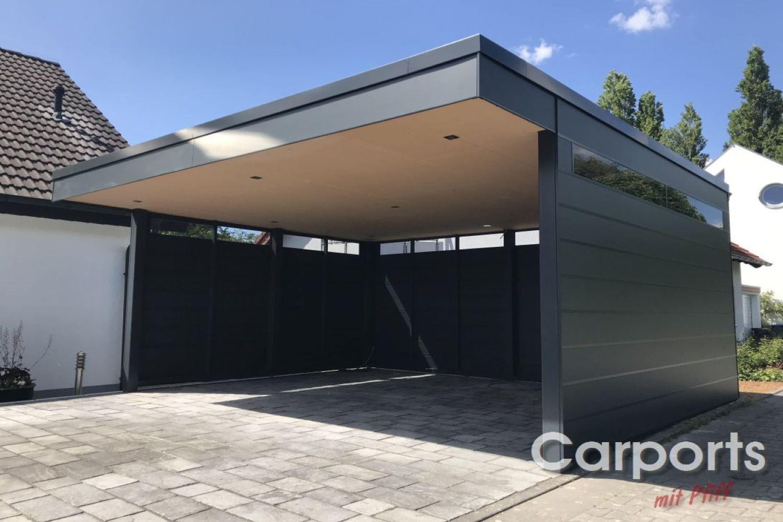 Carport Bauhhaus Hpl Carport Dachfenster Sonnenschutz Aussen