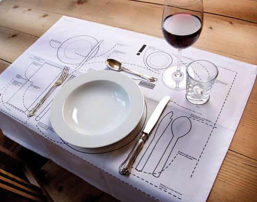 Cheat sheet place mat with funny table setting diagrams for proper cheat sheet place mat with funny table setting diagrams for proper positions yes please ccuart Choice Image