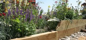 Image result for lavender raised bed sleeper