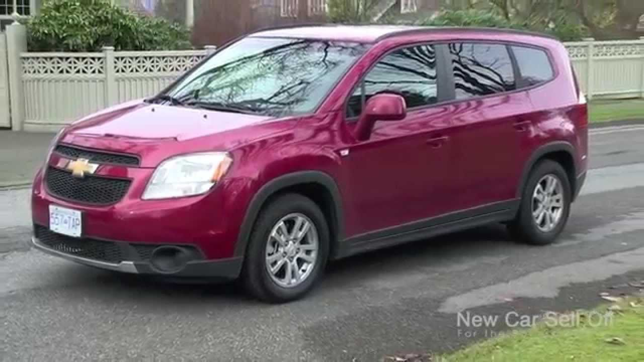 New Car Sell Off S Video Review Of The 2012 Chevrolet Orlando