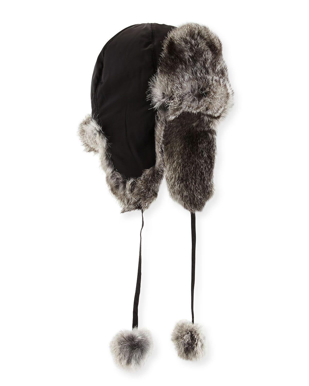 Rabbit Fur Trapper Hat 0e03fbbf9d4