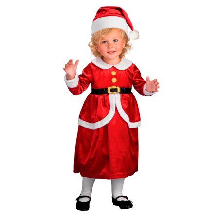 Toddler Lil Mrs. Claus Costume, Red - Toddler Lil Mrs. Claus Costume, Red Products Pinterest