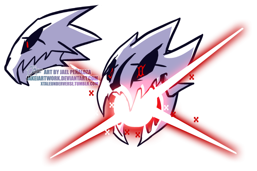 Cross Xblaster Underverse Xtale Concept By Jakeiartwork Undertale Undertale Art Undertale Fanart