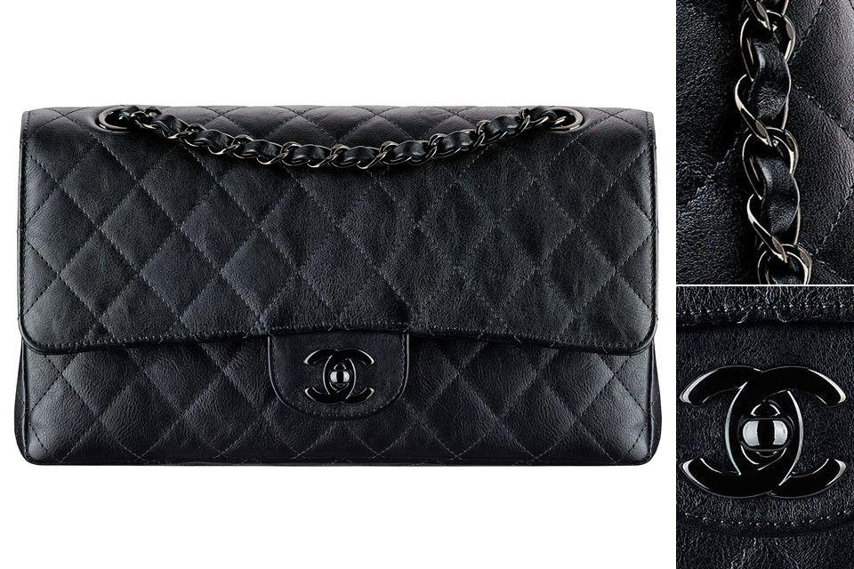 Chanel So Black Classic Flap Bag  ba1f9f8f488af