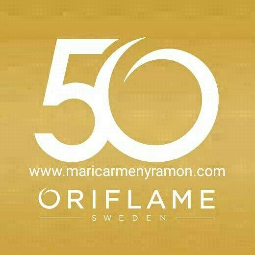 ¿Sabéis que este año es el 50 aniversario de Oriflame?  Así que es el mejor momento para unirte a nosotros: sorpresas, viajes, incentivos...  Pídenos información 👍