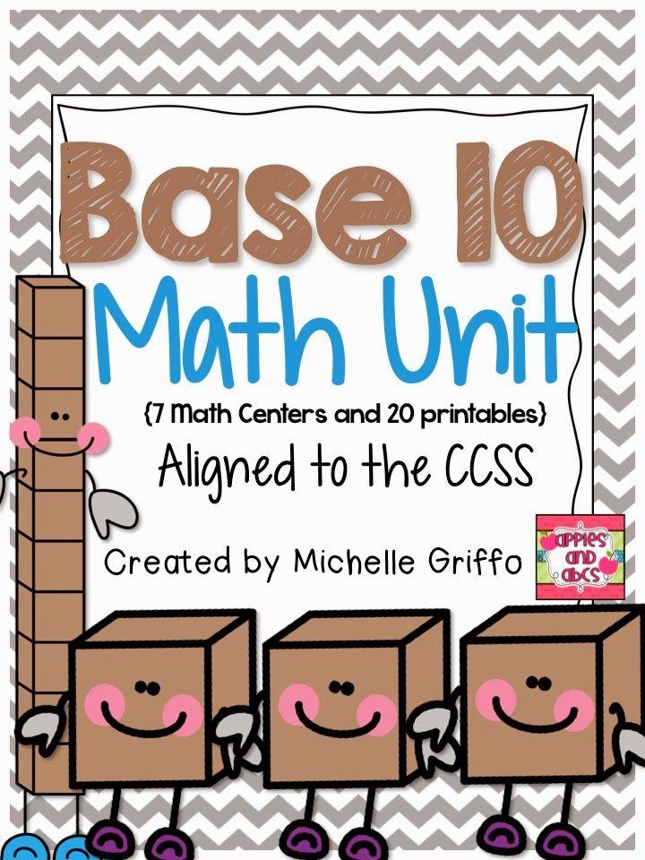 Math with Base 10 Blocks | Math | Pinterest