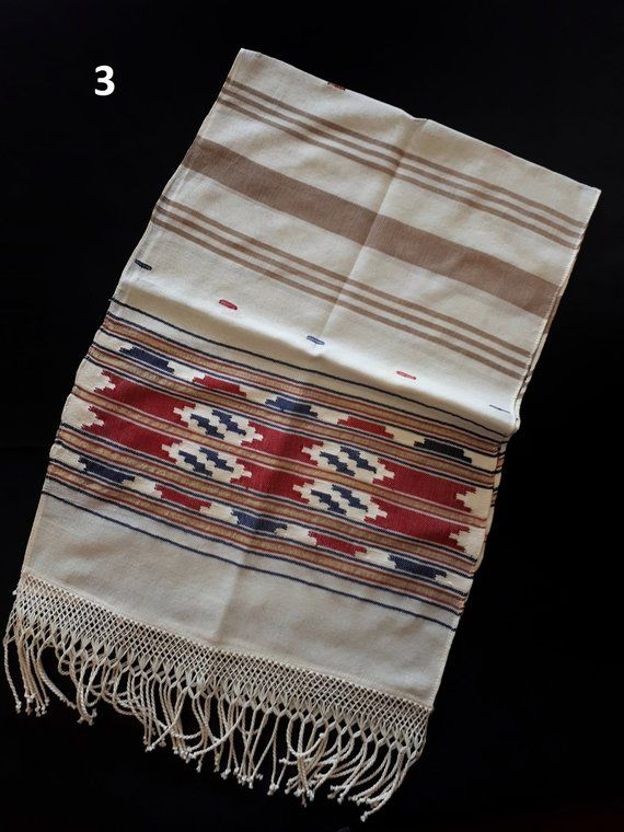 Hand Loom Cotton Table Runner Runner Fashion Table Cloth Table