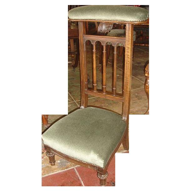 French Antique Prayer Chair Prayer Kneeler Antique Furniture - French Antique Prayer Chair Prayer Kneeler Antique Furniture