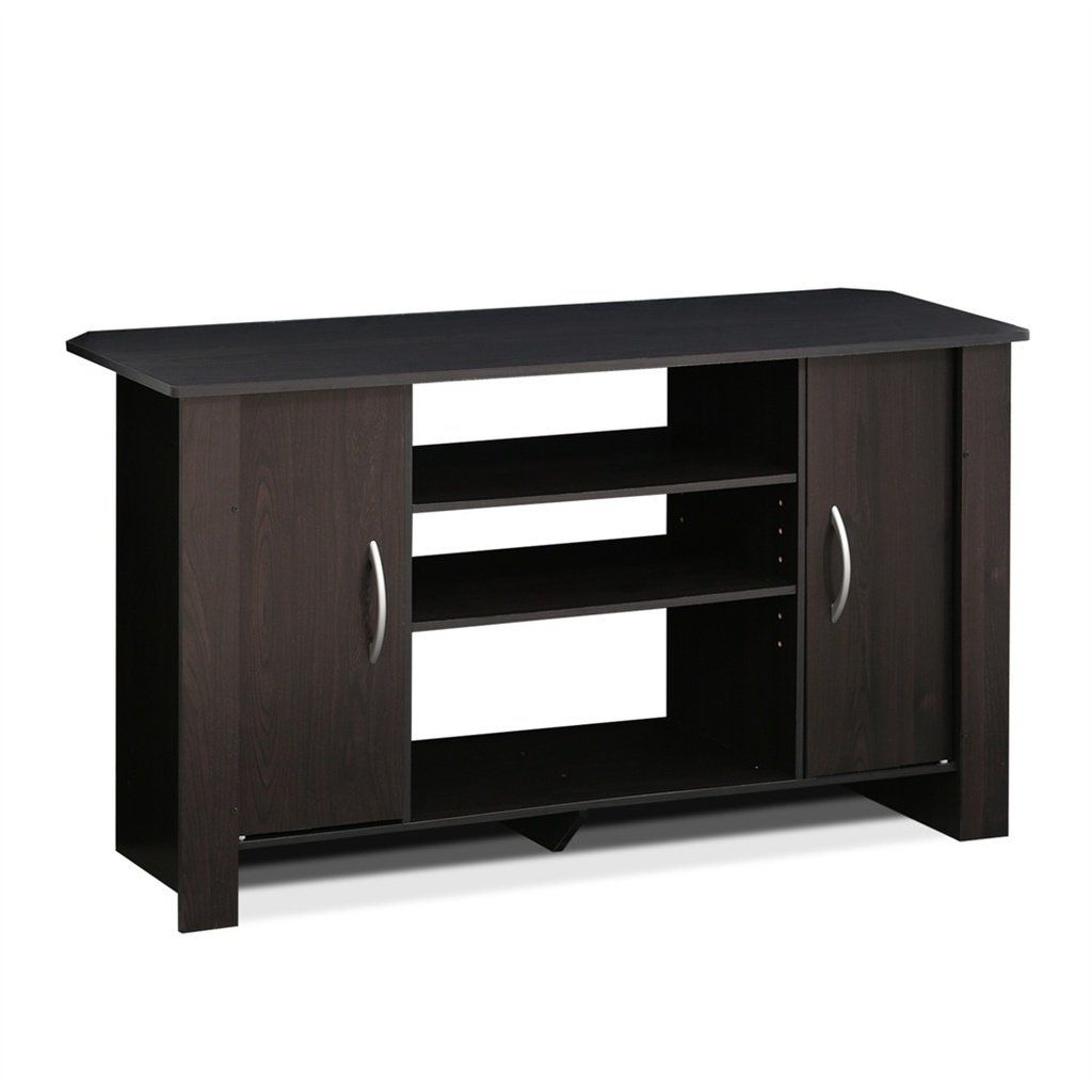 Econ tv stand entertainment center espresso econ tv stand