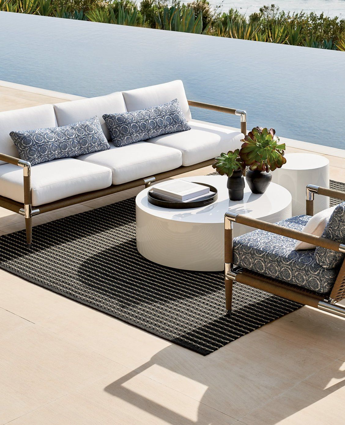 Terra Mar Seating Frontgate Outdoor Furniture Best Outdoor Furniture Diy Outdoor Furniture