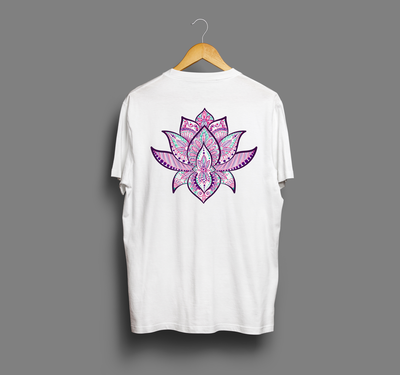 lotus symbol yoga tee lotusflowertattoo  lotustattoo