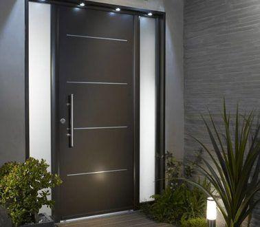 une d co de porte d 39 entr e ext rieure design porte pinterest entr e ext rieur et portes. Black Bedroom Furniture Sets. Home Design Ideas