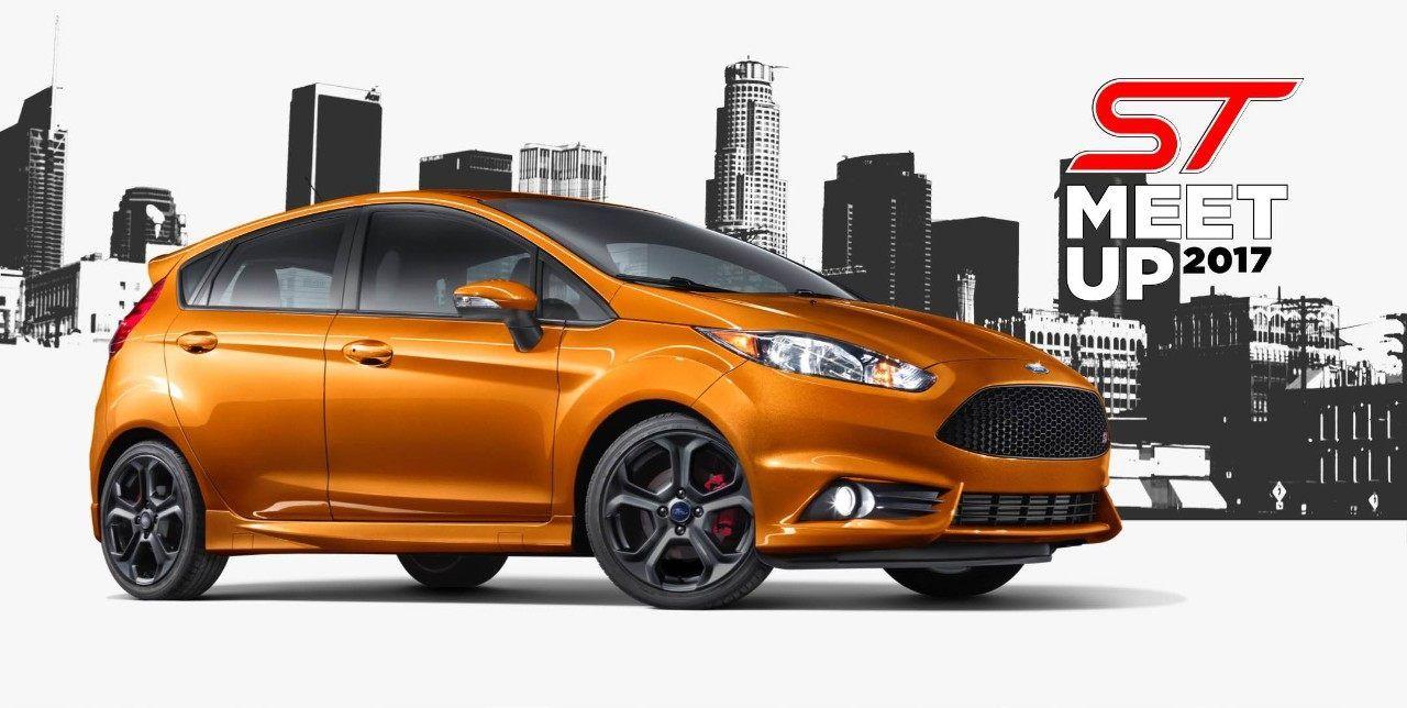 2018 Fiesta St In Orange Spice Metallic Tri Coat Fiesta St Ford