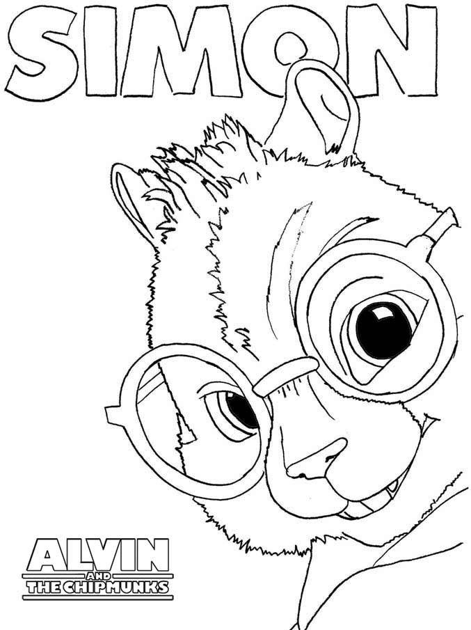 alvin and chipmunks coloring - Bing Images | Disney and Other ...
