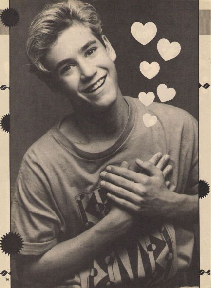 I <3 Zack Morris from Saved by the Bell.