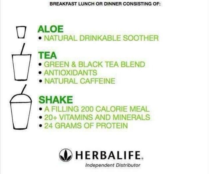 herbalife meal plans