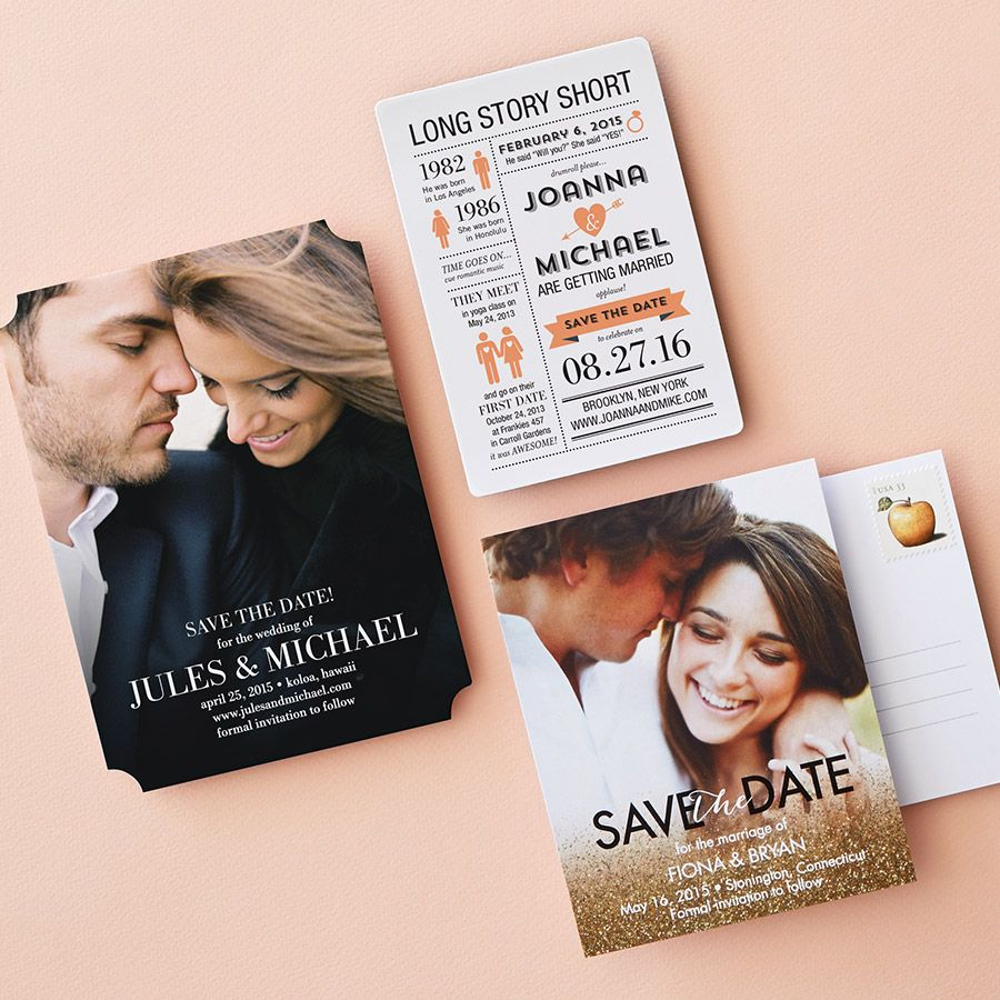 When Should Save The Dates Be Sent: Wedding Tip: Send Your Save The Dates 6 Months Before Your