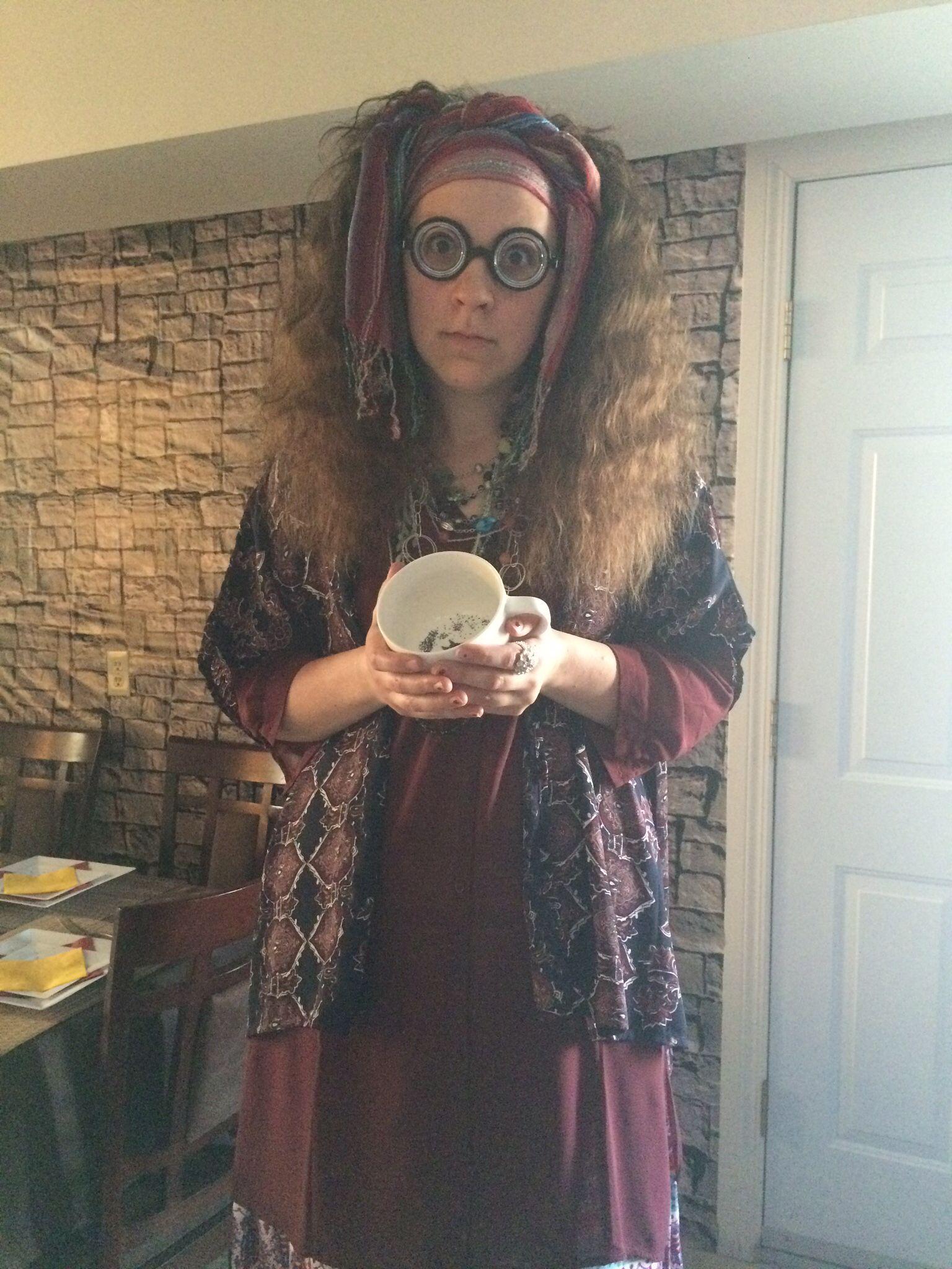 Sybill Trelawney Harry Potter Party Harry Potter Costume Harry Potter Halloween Harry Potter Halloween Costumes