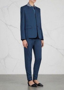 8b1f52774d33 Fleur blue wool blazer | Jackets | Clothes for women, Suits, Clothes