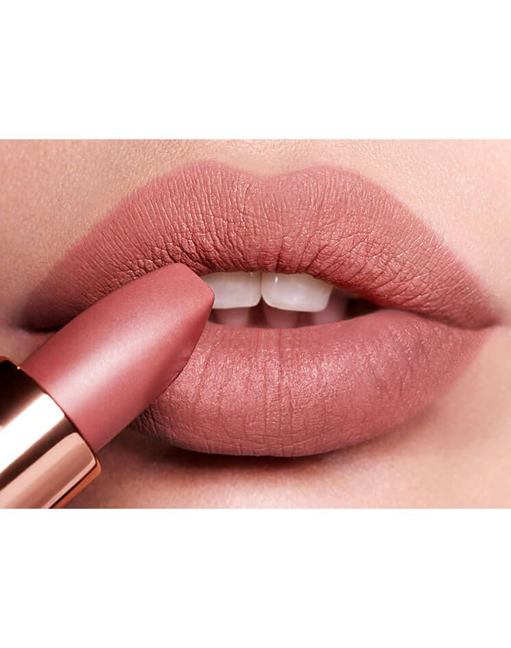 Charlotte Tilbury - Luminous Modern-Matte Lipstick -  MATTE REVOLUTION PILLOW TALK