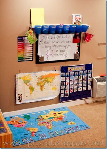 Photo of Our Homeschool Room 2012-2013