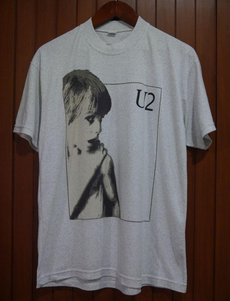 5b4e27b4 vintage 80s U2 BOY I WILL FOLLOW t-shirt RARE #u2 #boy | Vintage T ...