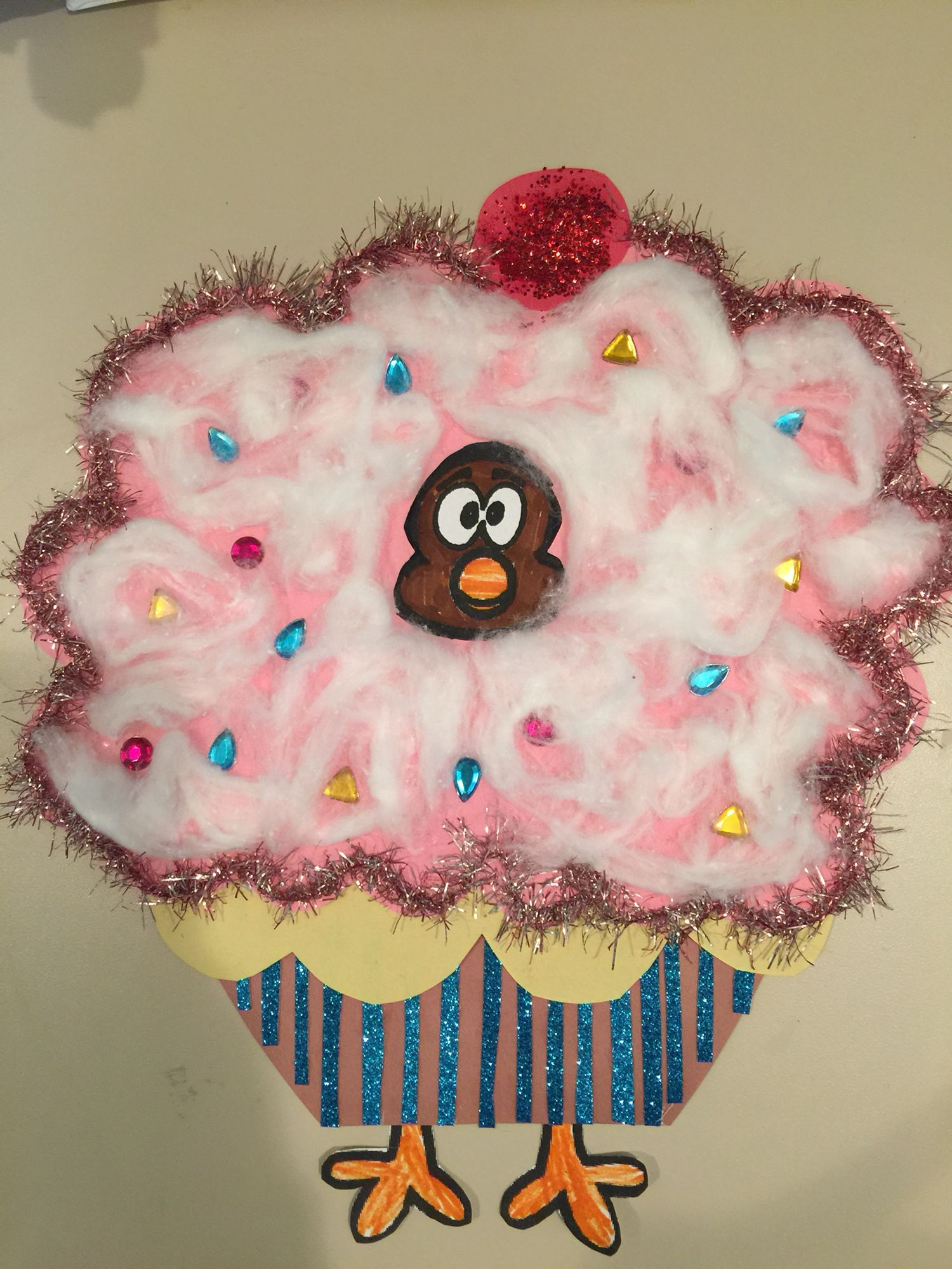 Turkey Disguise Cupcake With Images