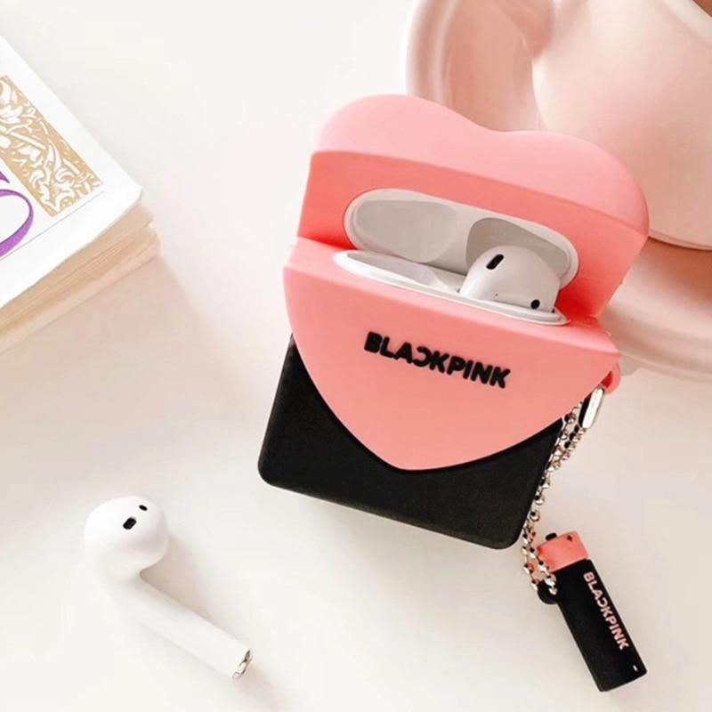 Blackpink Airpods Silicone Case In 2021 Airpod Case Black Pink Cute Ipod Cases