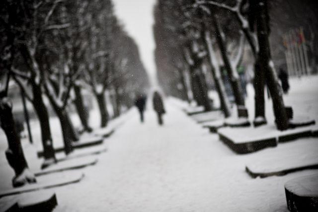 Winter in the city by A. Aleksandravičius, via Flickr