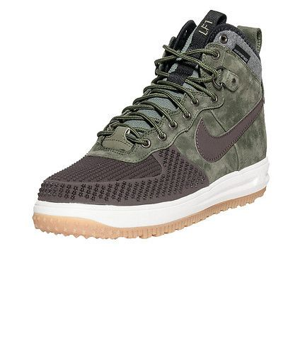 low priced 91d9c 1d42b NIKE Lunar Force 1 Duckboot Men s High top duckboot Lace up closure Padded  tongue with reflective NIKE logo branding Cushioned inner sole for comfort  ...