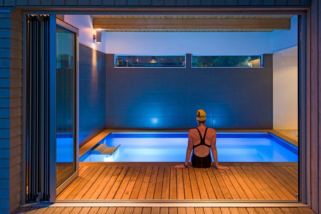 Endless Pool | Small indoor pool, Indoor swimming pools ...