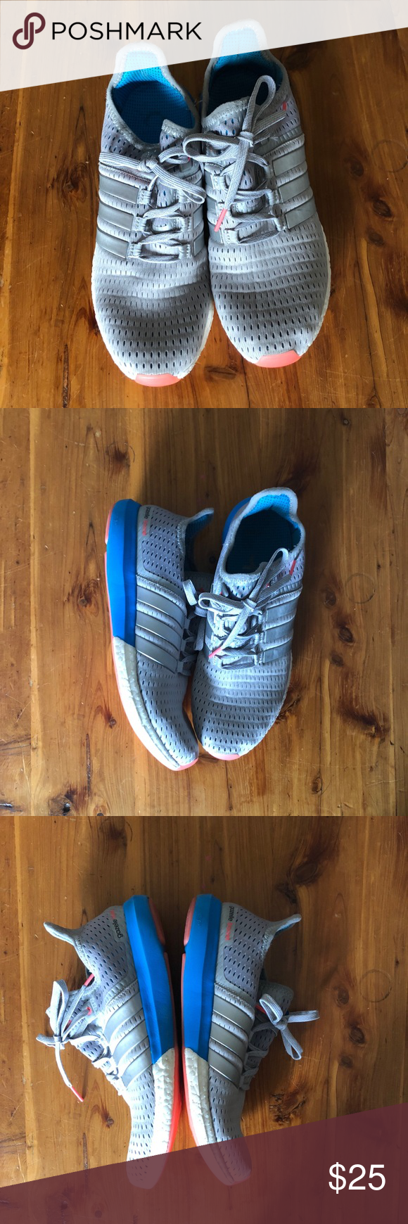 Adidas gazelle boost Size 9. Some imperfections shown in
