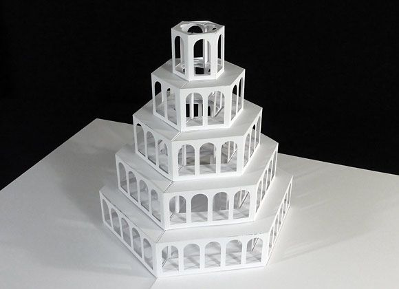 AWESOME Card Templates And Tutorials You Have GOT To Check - Elaborate pop paper sculptures peter dahmen