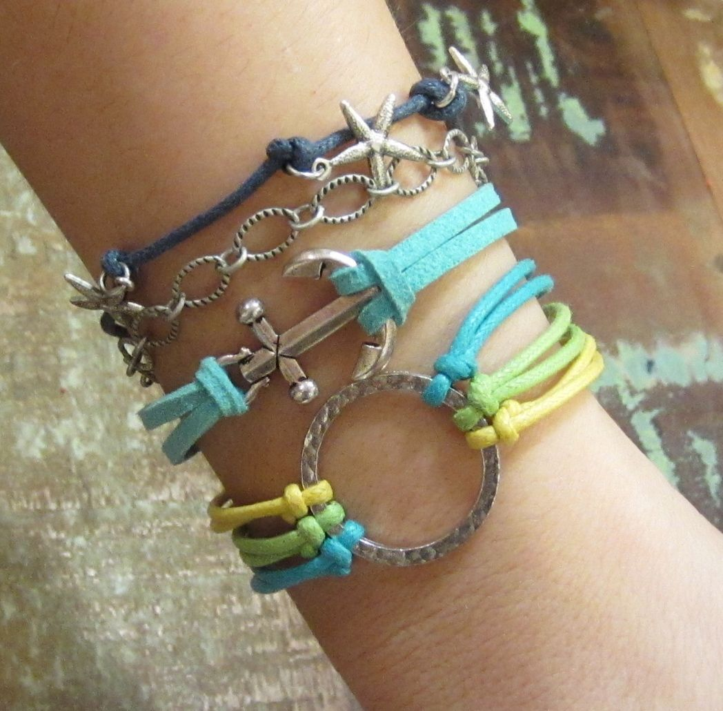 This customer made four bracelets that she could mix and match in a single afternoon!