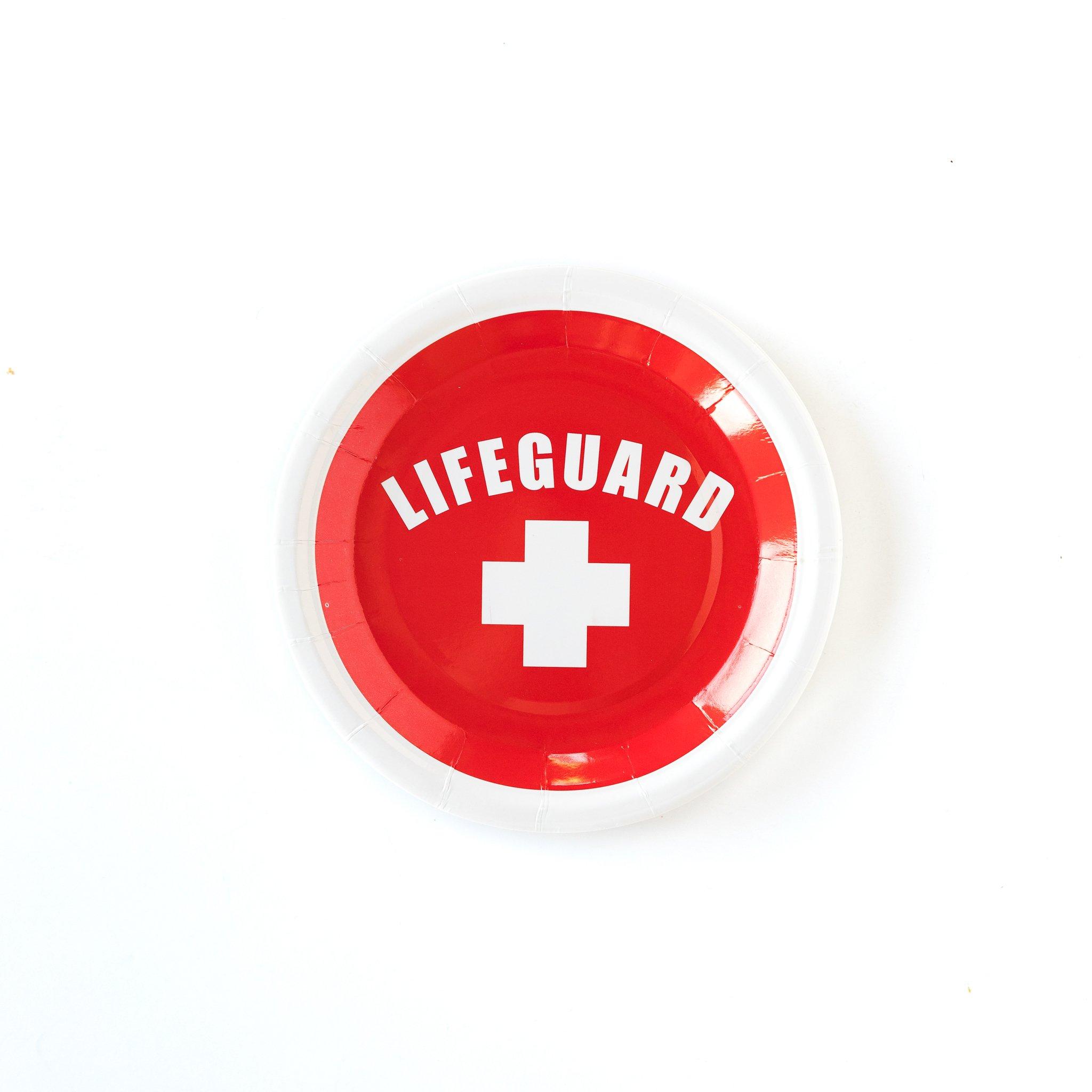 Lifeguard 7 Plates Tabletop My Mind S Eye Lifeguard Summer