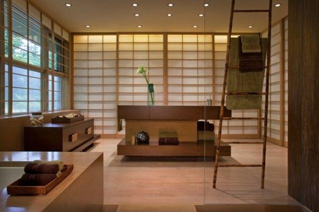 Comment concevoir une salle de bain japonaise salle de - Concevoir salle de bain ...