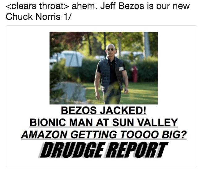 Photoshop Meme Roundup Swole Jeff Bezos Edition Funny Memes And