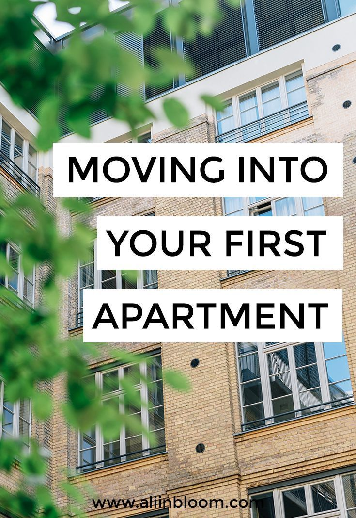 How To Choose Your First Apartment, Prepare For Moving Into Your First  Apartment And Move