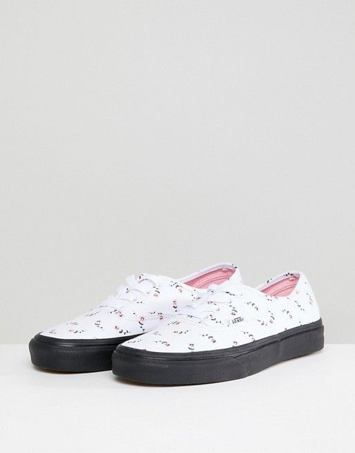 X Lazy Oaf Exclusive To Asos Authentic Trainers - White Vans Ww32h
